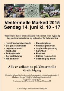 Vestermollemarked 2015 Opslag